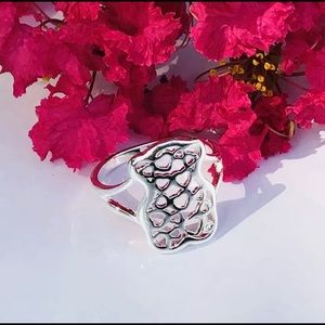 Jewelry - 🌸Fashion Ring Silver Plated / Copper 💕 Sz 7